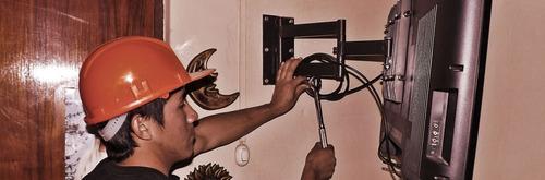 tecnico vendedor y instalador de todo tipo de racks para tv.