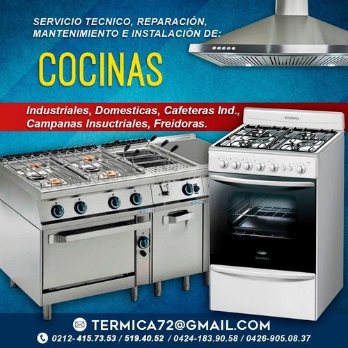 tecnicos. cocinas vitroceramicas tope a gas y eléctrica