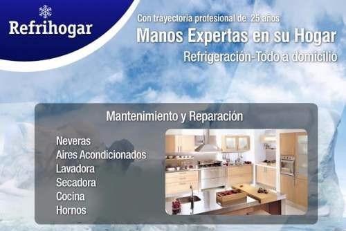 técnicos de lavadoras, secadoras, neveras,04244334018