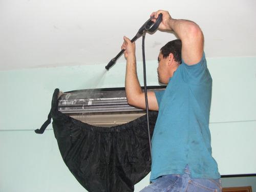 técnicos  en reparación instalación de aires acondicionados