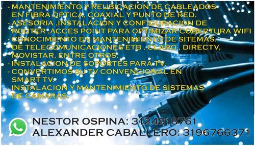 tecnicos en telecomunicaciones mantenimiento e instalaciónes