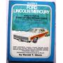 Guia Antigua Para Reparacion Ford- Lincoln-mercury 1955-70