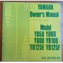 Libro Manual De Usuario Original Yamaha Yb50 Yb100 Yb125