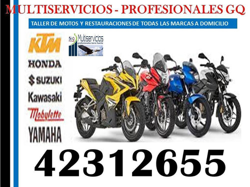 técnicos para motos a domicilio