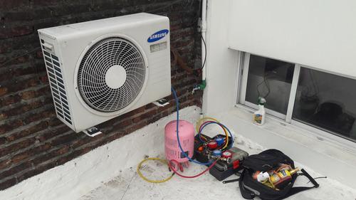 tecnicos refrigeracion recargas heladeras aires split gas