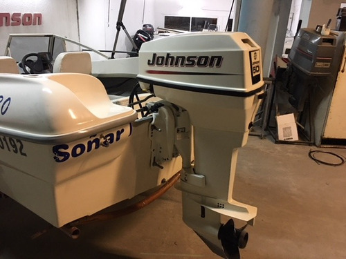 tecno 430 motor johnson 50 hp full