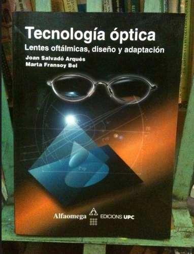 9c1bad7776 Tecnologia Optica, Lentes Oftalmicas, Diseno Y Adaptacion - $ 454.00 ...