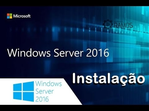 tecnólogo ti p/ instalações windows server 2016, windows 10