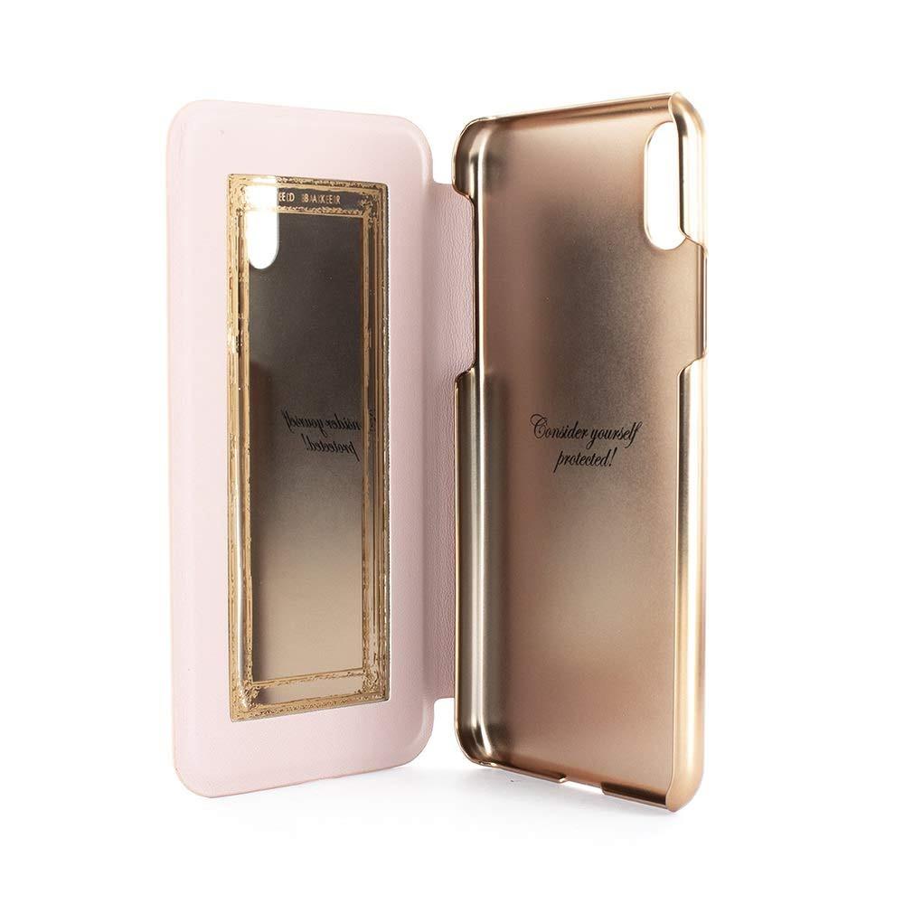 2992dc559d1 ted baker fashion mirror folio funda para iphone xr, protect. Cargando zoom.