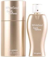ted lapidus white soul gold & diamonds edp x 100ml original!