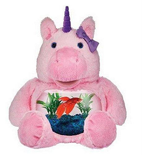 teddy tank plush pink magical unicorn