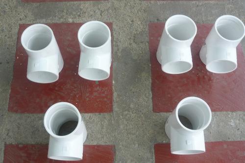 tee de pvc 2 pulg. sch 40 importada para aguas blancas
