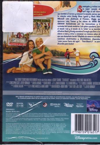teen beach 2 - dvd - original nuevo sellado