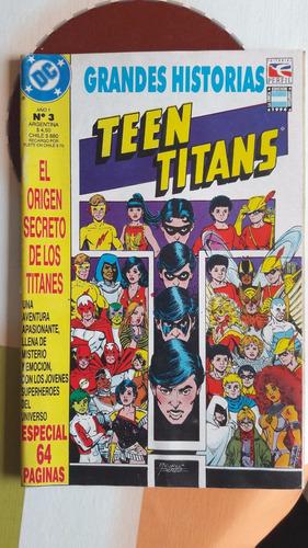 teen titans - el origen secreto de los titanes- george perez
