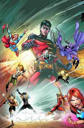 teen titans vol. 10: changing of the guard