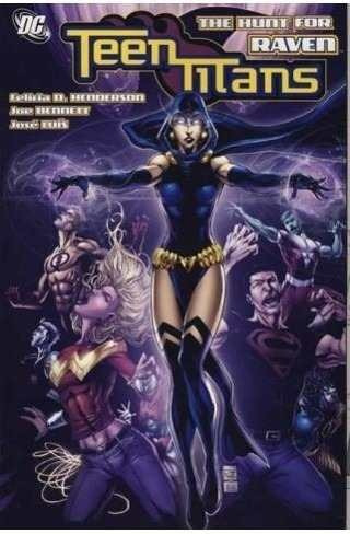 teen titans vol. 13: the hunt for raven