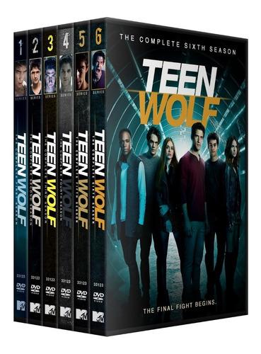 teen wolf coleccion en dvd 6 temporadas + envio gratis
