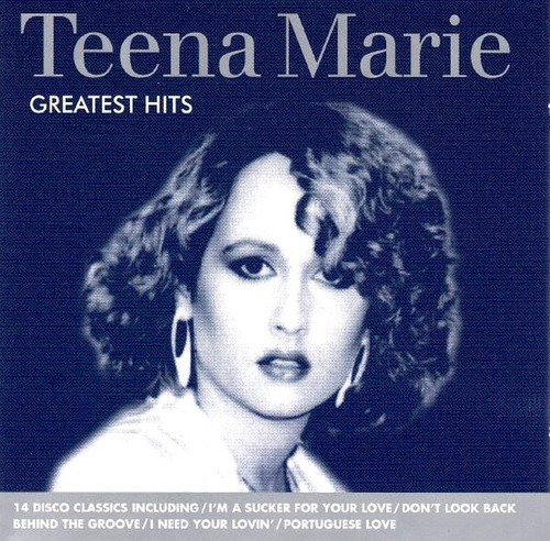 teena marie - greatest hits (1986)