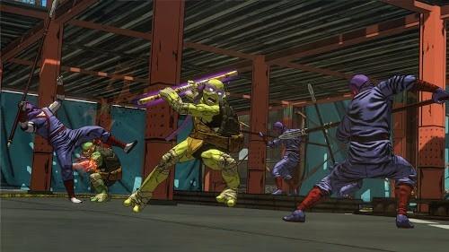 teenage mutant ninja turtle juego pc original fisico dvd box