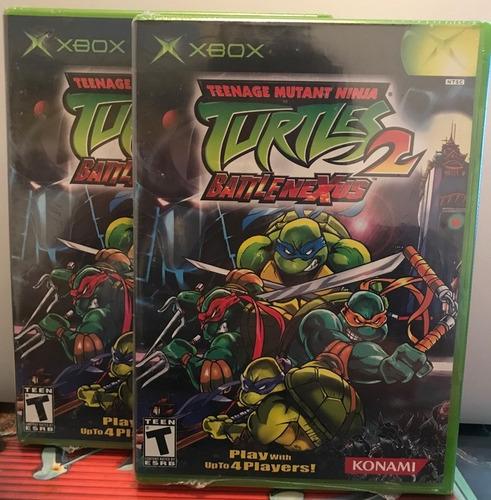 teenage mutant ninja turtles 2 battlenexus (nuevo sellado)