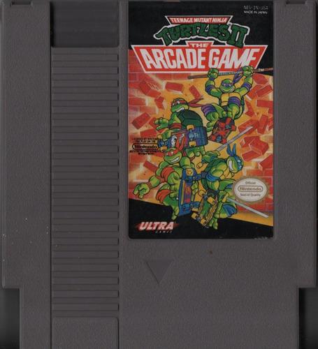 teenage mutant ninja turtles ii 2 the arcade game tartarugas