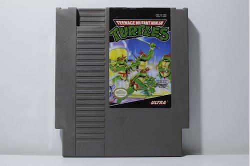 teenage mutant ninja turtles - juego original nintendo nes
