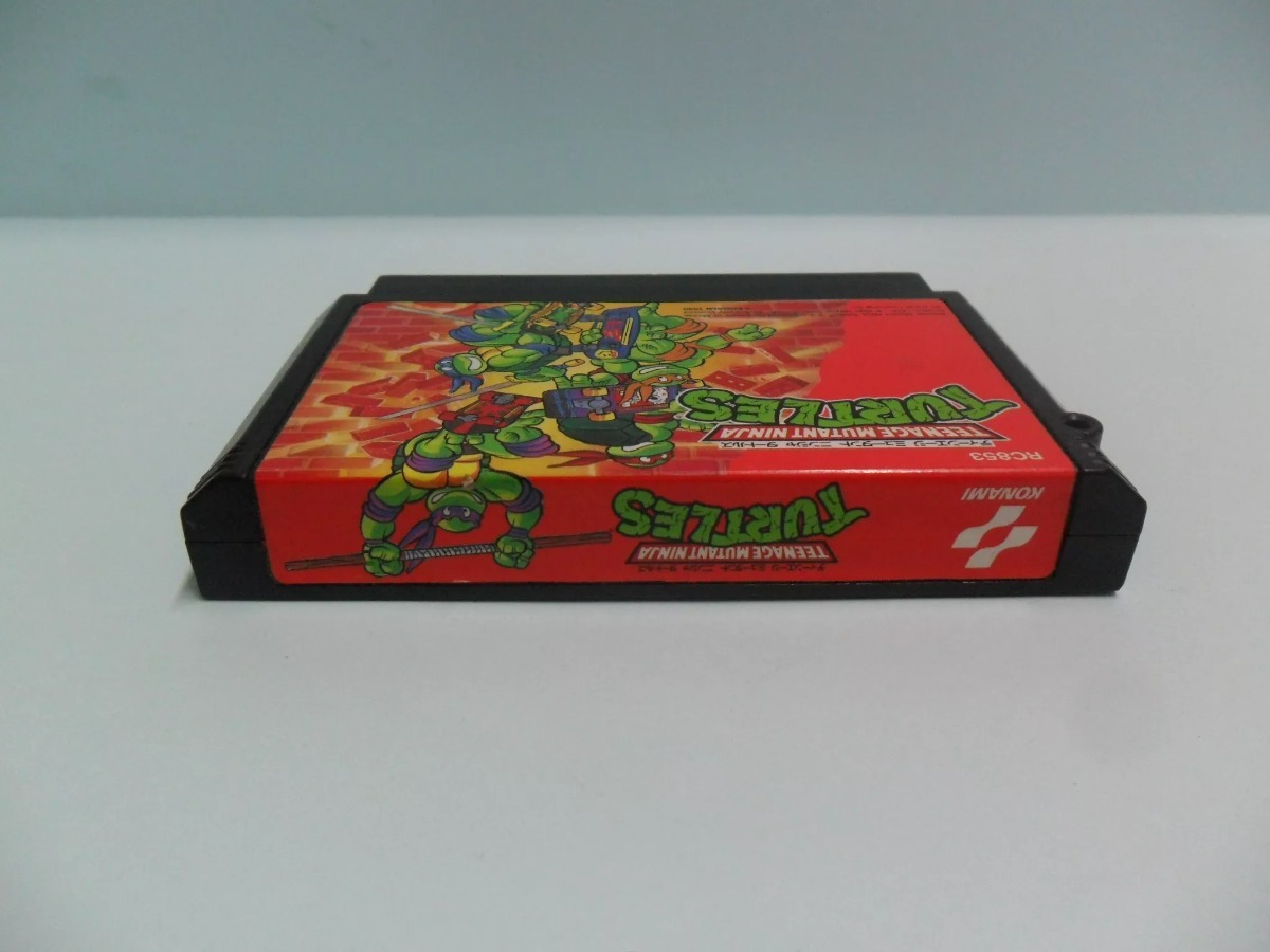 Teenage Mutant Ninja Turtles ( Tmnt 2:the Arcade Game) Nes