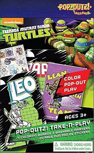 teenage mutant ninja turtlespop outs. take n play