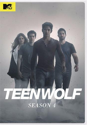 teenwolf temporada 4 cuatro serie de tv dvd