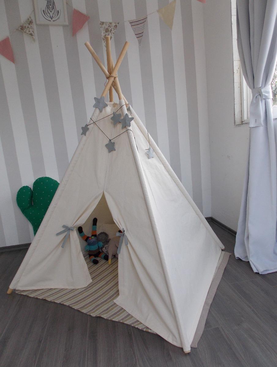 91412b020 teepee casita para niños tienda de campaña tipi infantil cru. Cargando zoom.
