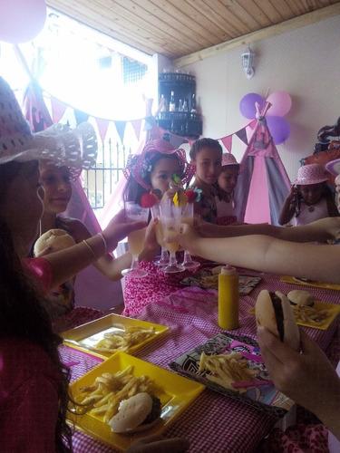teepees fiesta de te spa para niñas picni