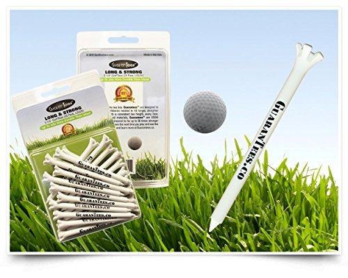 tees de golf, garantiza larga y fuerte, 3 1/4  casi irrom