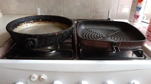 teflonados moreno restauracion olla sarten bifera aluminio