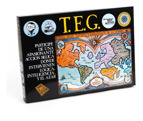 teg juego de estrategia belico clasico y original planeta