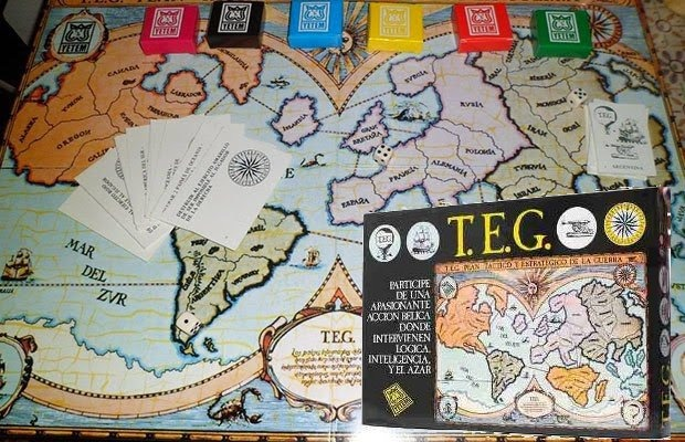 Teg Juego De Mesa Clasico Tradicional Estrategia 890 00 En