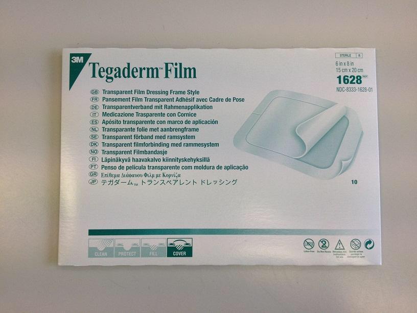 Tegaderm Film 3m 10x12 Cm Transparente Con Marco Oferta!! - $ 25,00 ...