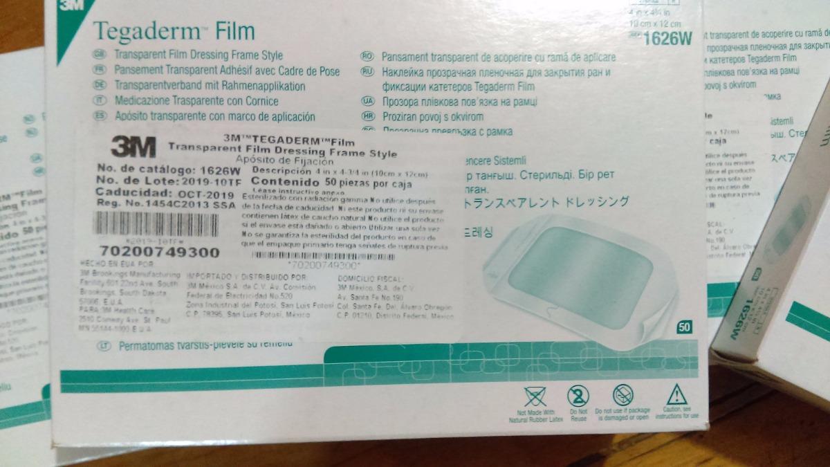 Tegaderm Film 3m Caja Con 50 Parches 10 X 12 Envio Gratis - $ 549.00 ...