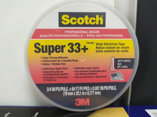 teipe 23 y 33  marca scotch 3m