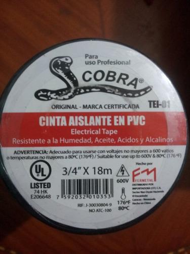 teipe cobra original 18 mts
