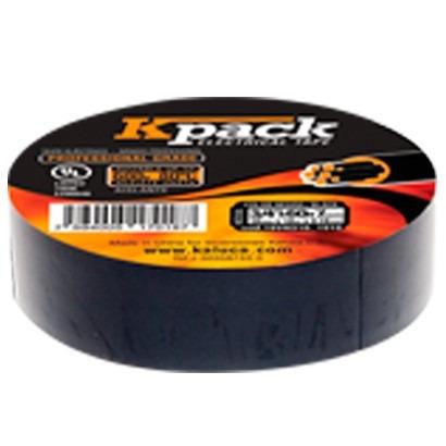 teipe electrico negro kpack (tubo 10 unidades)