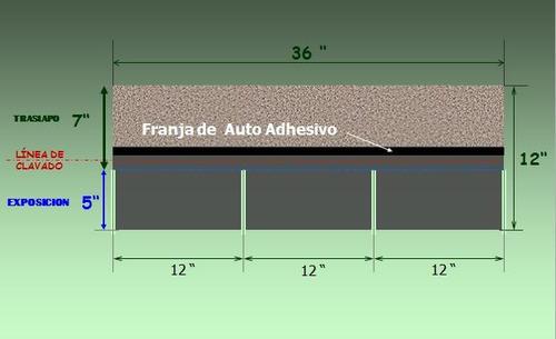 teja asfaltica negra owens corning - plana
