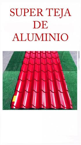 teja de aluminio
