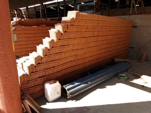 teja de barro extruida tipo ala 16.6 x 30 excelente calidad