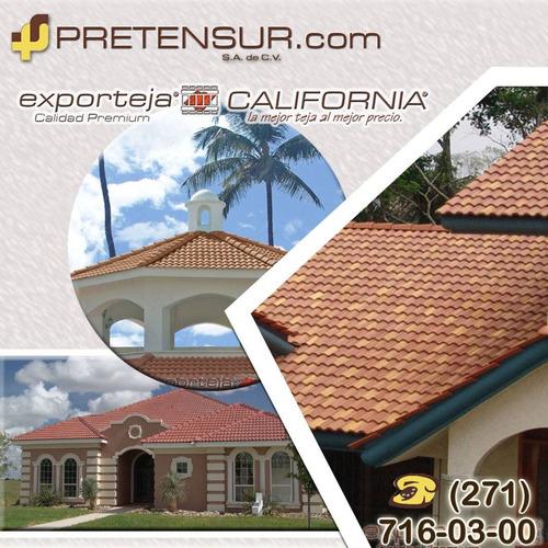 teja de concreto 26 m2 ($163 pesos m2 incluye envío y iva)