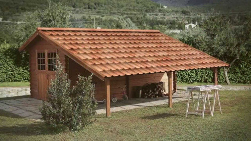 teja thermoacustica onduvila para hogares y casas campestres