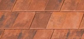 teja viejo ingles española (x12 unidades), cerámicas castro.