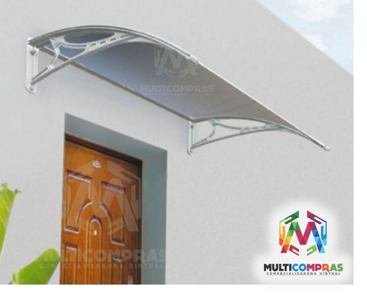Tejas alero para exterior puerta techo toldo frente lluvia for Toldos para lluvia