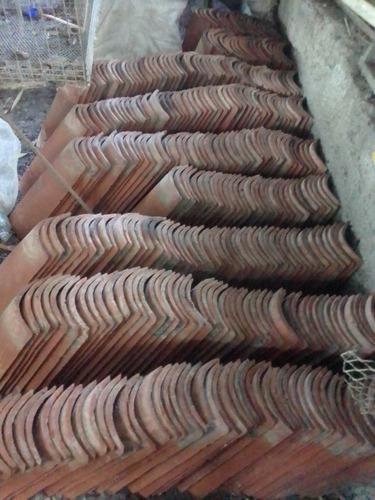 tejas de arcillas usadas