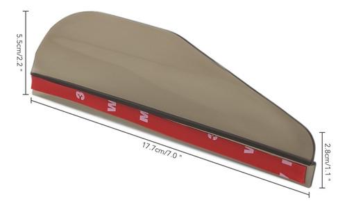 tejas deflectoras para espejos laterales de autos, par.