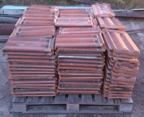 tejas francesas usadas - techo de tejas - losa olavarria